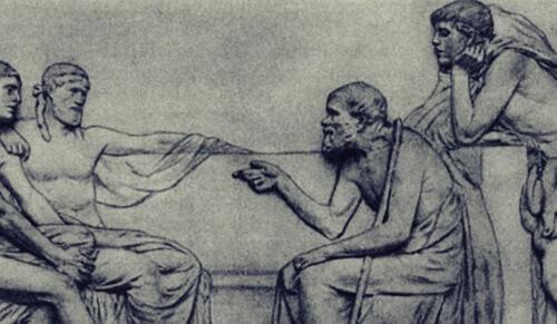 sokrates-og-hans-disipler